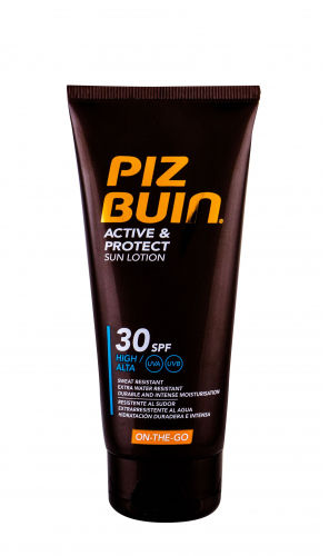 PIZ BUIN Active & Protect Sun Lotion SPF30 preparat do opalania ciała 100 ml unisex