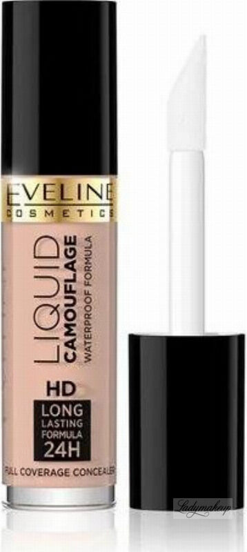 Eveline Cosmetics - LIQUID CAMOUFLAGE - Kryjący kamuflaż do twarzy - 01A - LIGHT BEIGE
