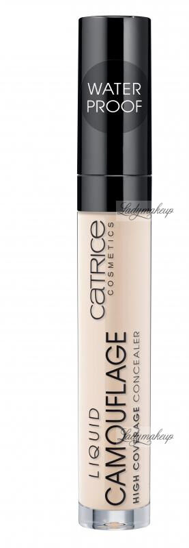 Catrice - LIQUID CAMOUFLAGE HIGH COVERAGE CONCEALER - Korektor w płynie - 005 - LIGHT NATURAL