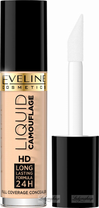 Eveline Cosmetics - LIQUID CAMOUFLAGE - Kryjący kamuflaż do twarzy - 01 - LIGHT