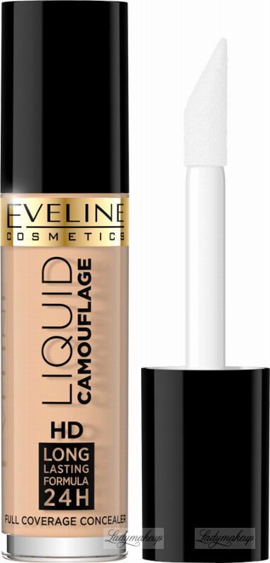 Eveline Cosmetics - LIQUID CAMOUFLAGE - Kryjący kamuflaż do twarzy - 02 - NATURAL