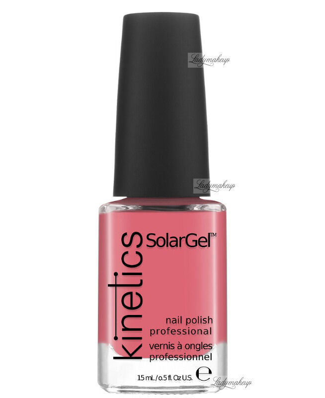 Kinetics - SOLAR GEL NAIL POLISH - Lakier do paznokci - System Solarny - 206 SO CORAL
