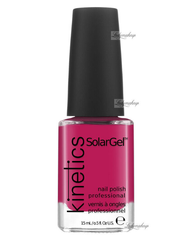 Kinetics - SOLAR GEL NAIL POLISH - Lakier do paznokci - System Solarny - 208 JAZZ LIPS