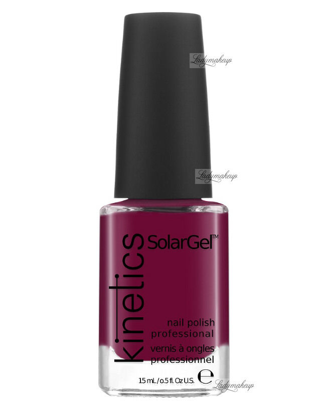 Kinetics - SOLAR GEL NAIL POLISH - Lakier do paznokci - System Solarny - 224 SIGNATURE WINE