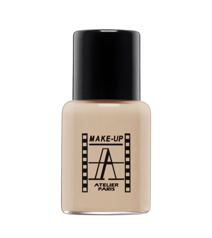 Make-Up Atelier Paris - Waterproof Liquid Foundation - Fluid / Podkład WODOODPORNY - 5ml - 5FLW4NB - GILDED BEIGE