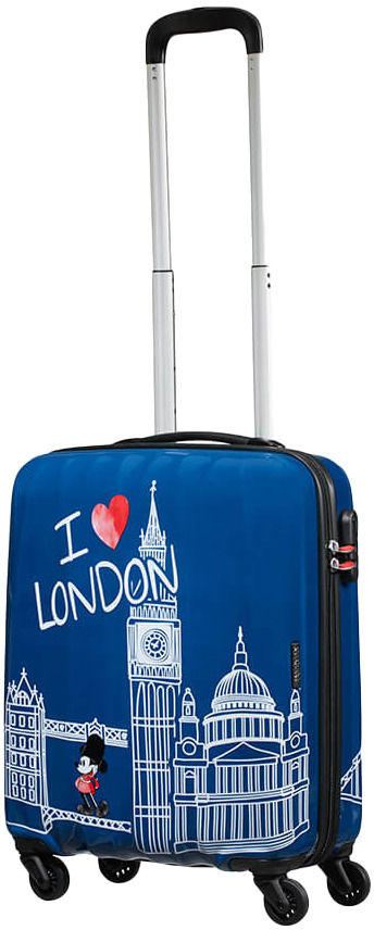 Walizka kabinowa American Tourister Disney Legends - Take Me Away Micky London - Take Me Away Micky London