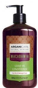 ARGANICARE Macadamia leave-in condit. dry&damaged 400ml