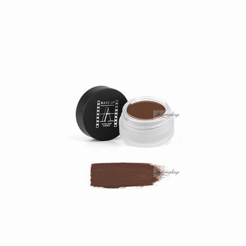 Make-Up Atelier Paris - Shadow & Brow Paint - Cień do powiek/ pomada do brwi - BPSB - SOFT BROWN