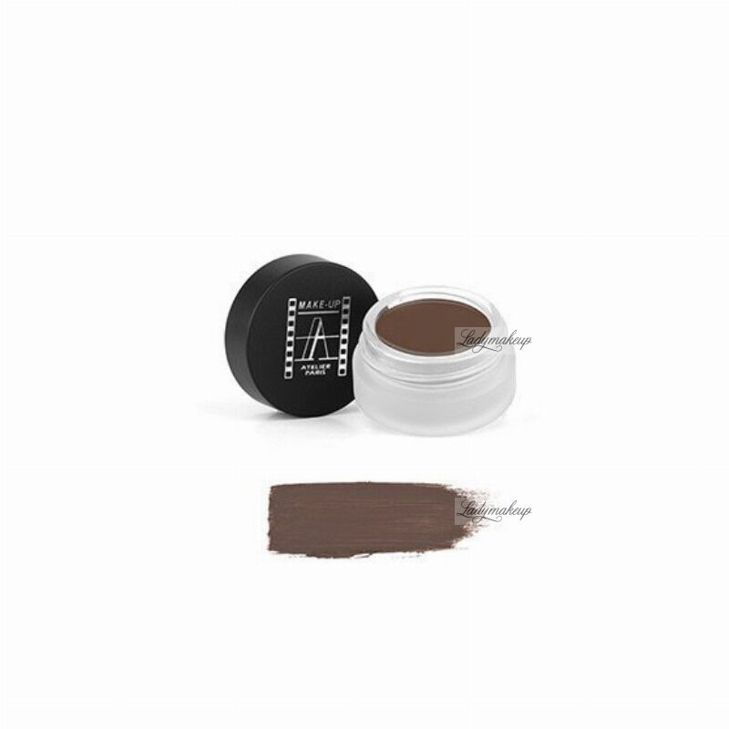 Make-Up Atelier Paris - Shadow & Brow Paint - Cień do powiek/ pomada do brwi - BPB - BROWN