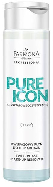 PURE ICON Dwufazowy płyn do demakijażu 250 ml