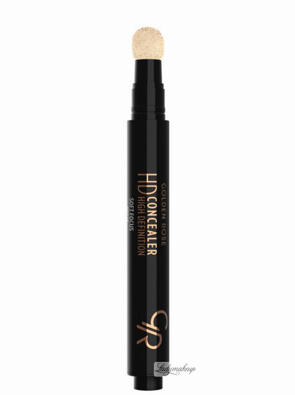 Golden Rose - HD Concealer - HIGH DEFINITION - Korektor pod oczy - 01