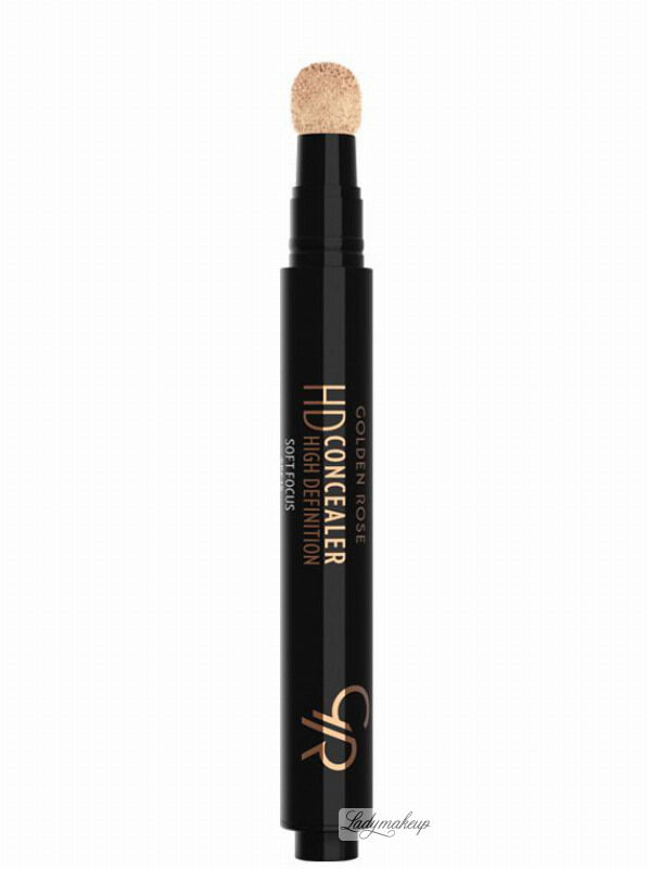 Golden Rose - HD Concealer - HIGH DEFINITION - Korektor pod oczy - 04