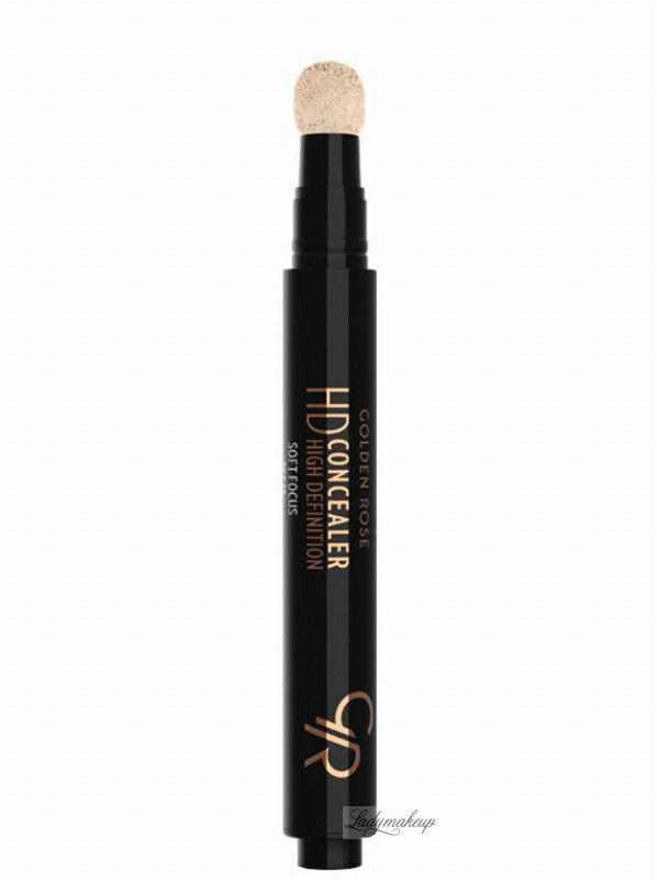Golden Rose - HD Concealer - HIGH DEFINITION - Korektor pod oczy - 02