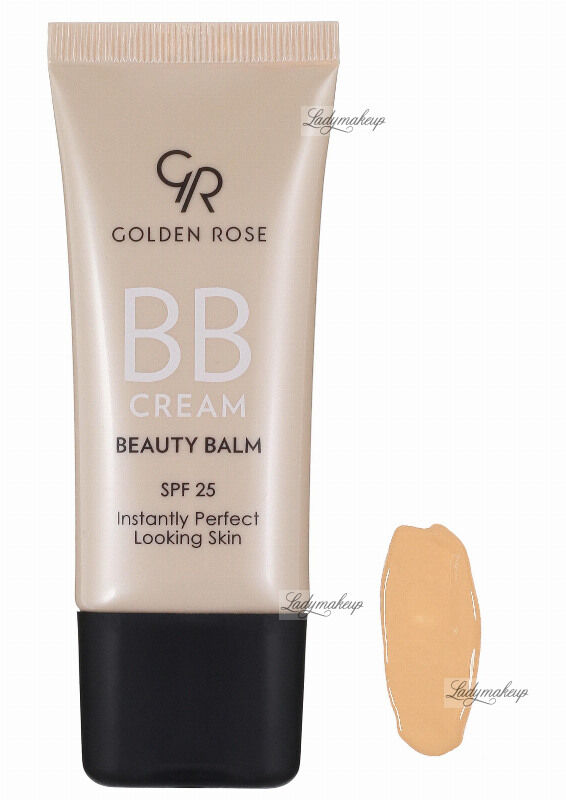 Golden Rose - BB CREAM BEAUTY BALM - Kremowy balsam upiększający - P-BBC - 02 - FAIR