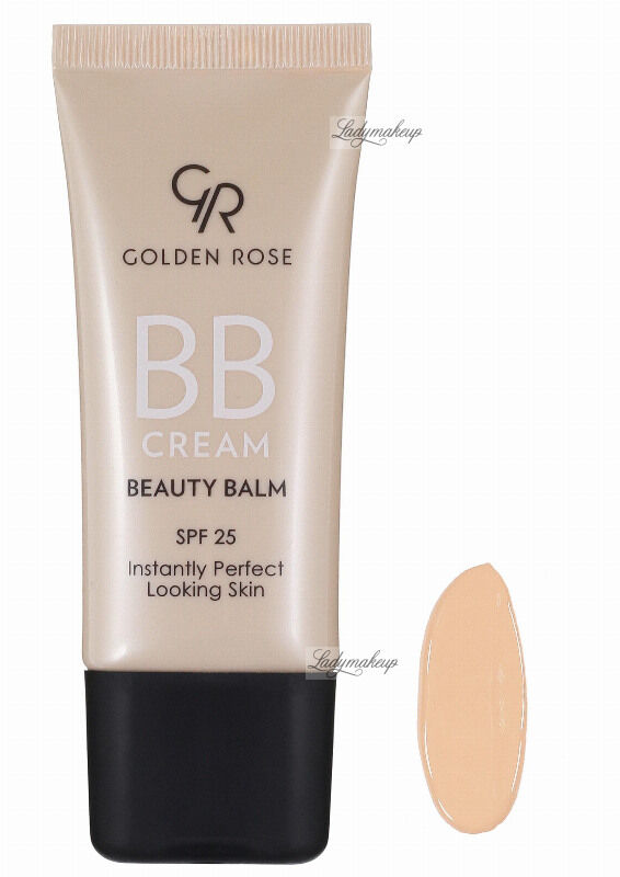 Golden Rose - BB CREAM BEAUTY BALM - Kremowy balsam upiększający - P-BBC - 01 - LIGHT