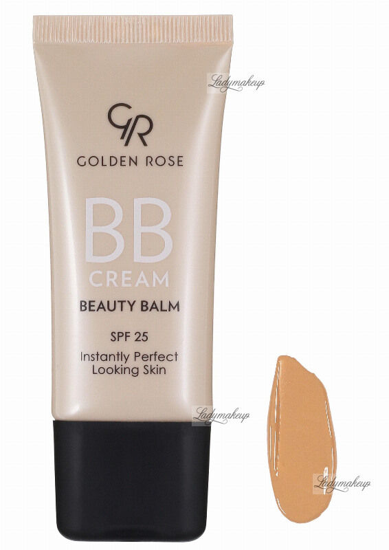Golden Rose - BB CREAM BEAUTY BALM - Kremowy balsam upiększający - P-BBC - 04 - MEDIUM
