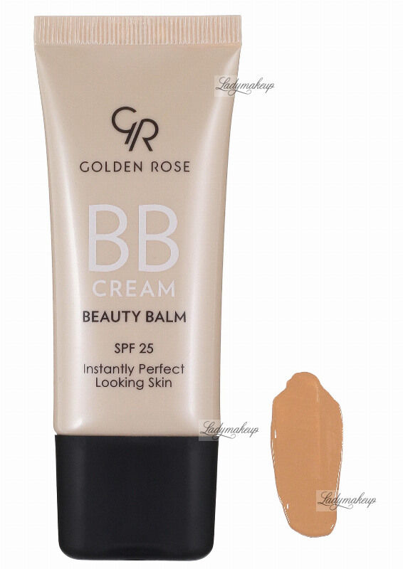 Golden Rose - BB CREAM BEAUTY BALM - Kremowy balsam upiększający - P-BBC - 05 - MEDIUM PLUS