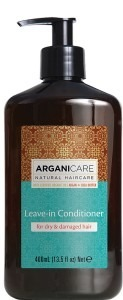 ARGANICARE Leave in conditioner dry damaged hair 400ml