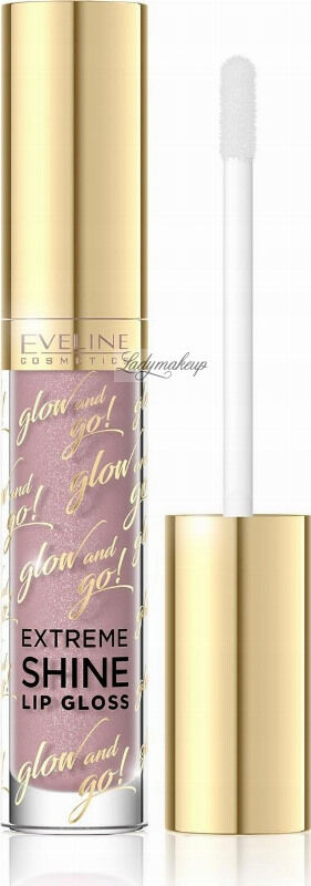 EVELINE - Glow and Go! Extreme Shine Lip Gloss - Błyszczyk do ust - 03 - NEUTRAL NUDE