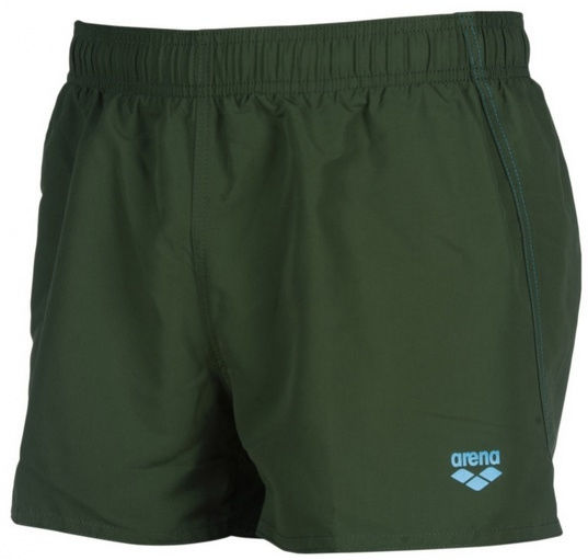 Arena fundamentals x-short wood green/turquoise