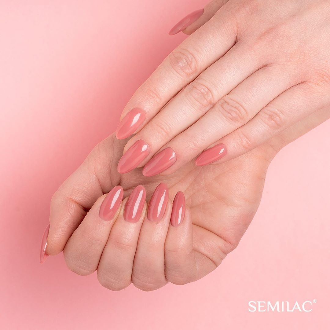 Semilac Baza Extend 818 Top Kolor 5w1 Brown Pink 7ml